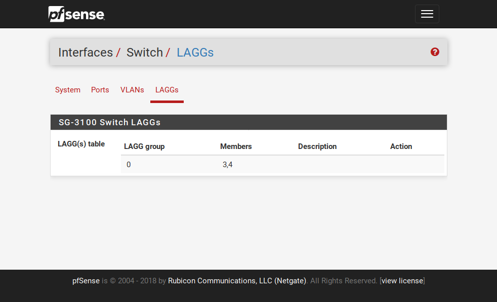 LAGG on Switched Ports on SG-3100 | Netgate Forum