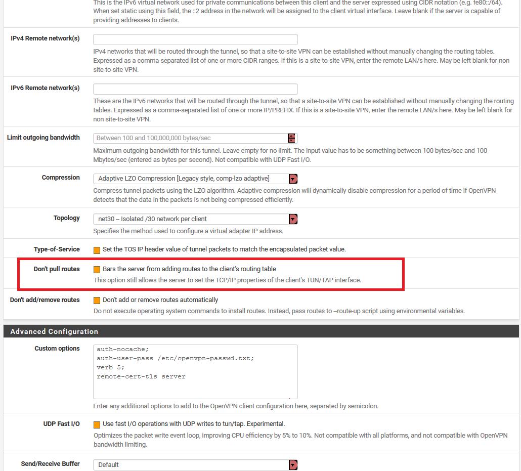 Dynamic DNS gets cached IP as VPN client IP   Netgate Forum