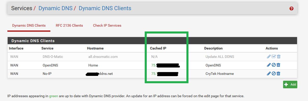 Dynamic DNS gets cached IP as VPN client IP | Netgate Forum