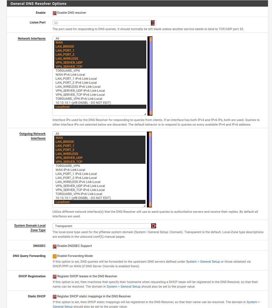 DNS FOR VPN | Netgate Forum