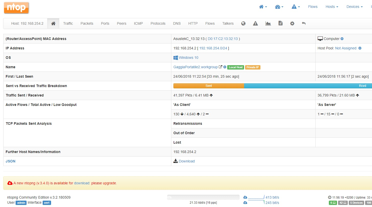 ntop activity map | Netgate Forum