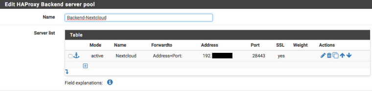 Solved] Warnung vor Update HA Proxy 0.59_2 | Netgate Forum