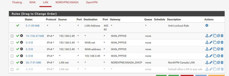 having problems with port forwarding and nat and vpn | Netgate Forum