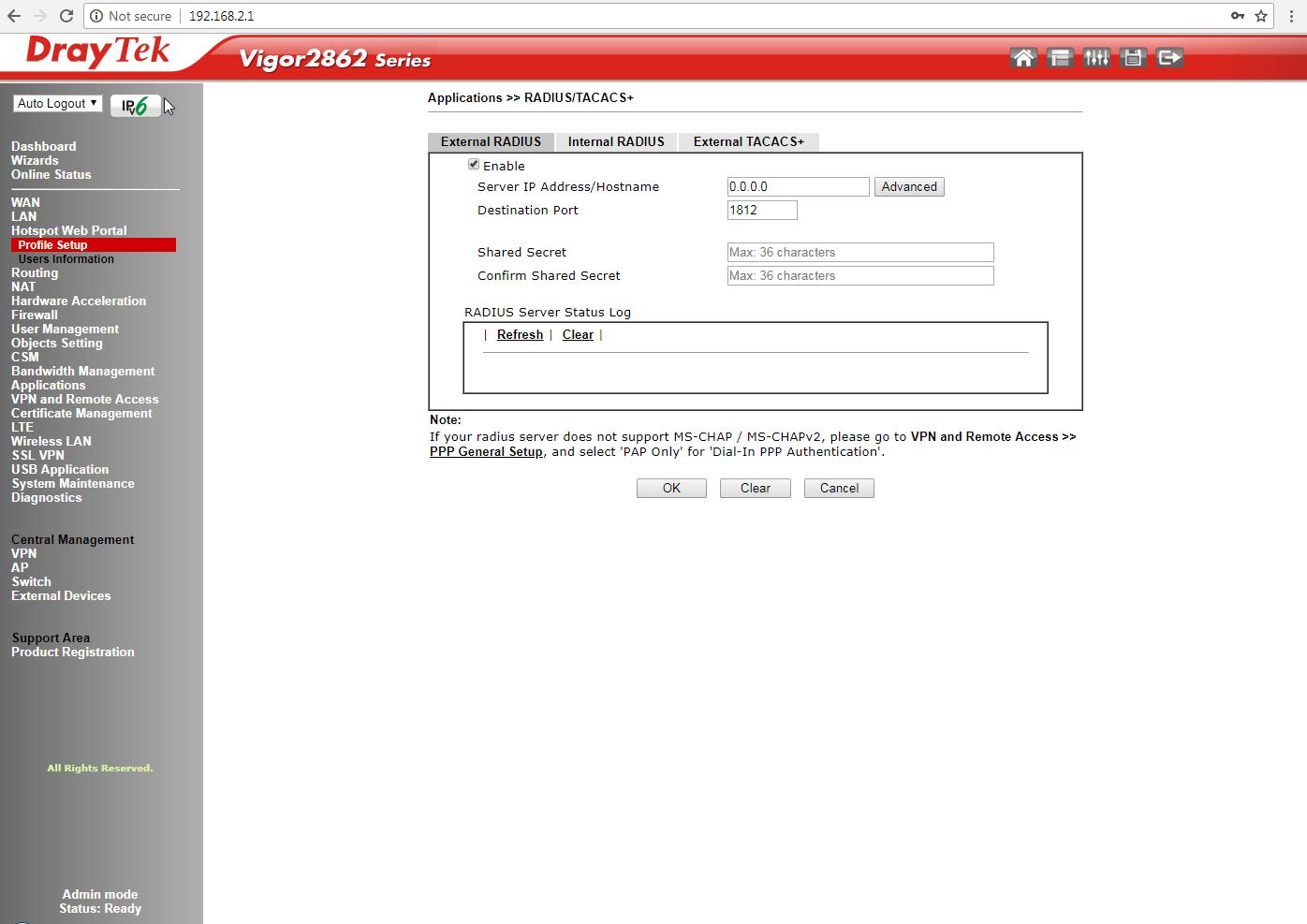 MAC auth radius server   Netgate Forum