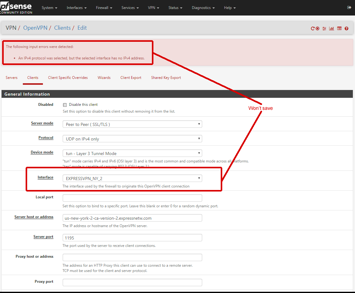 Possible Bug Setting up OpenVPN Client | Netgate Forum