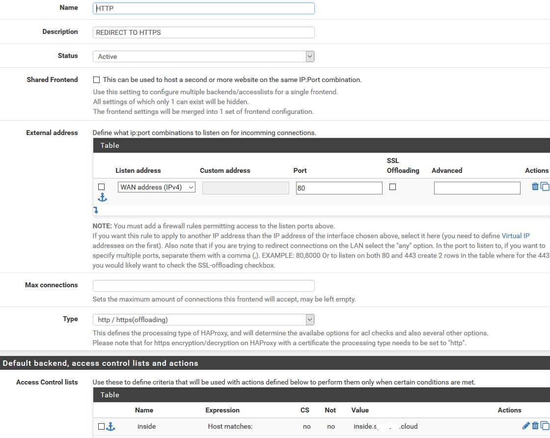 HAproxy for Letencrypt? | Netgate Forum