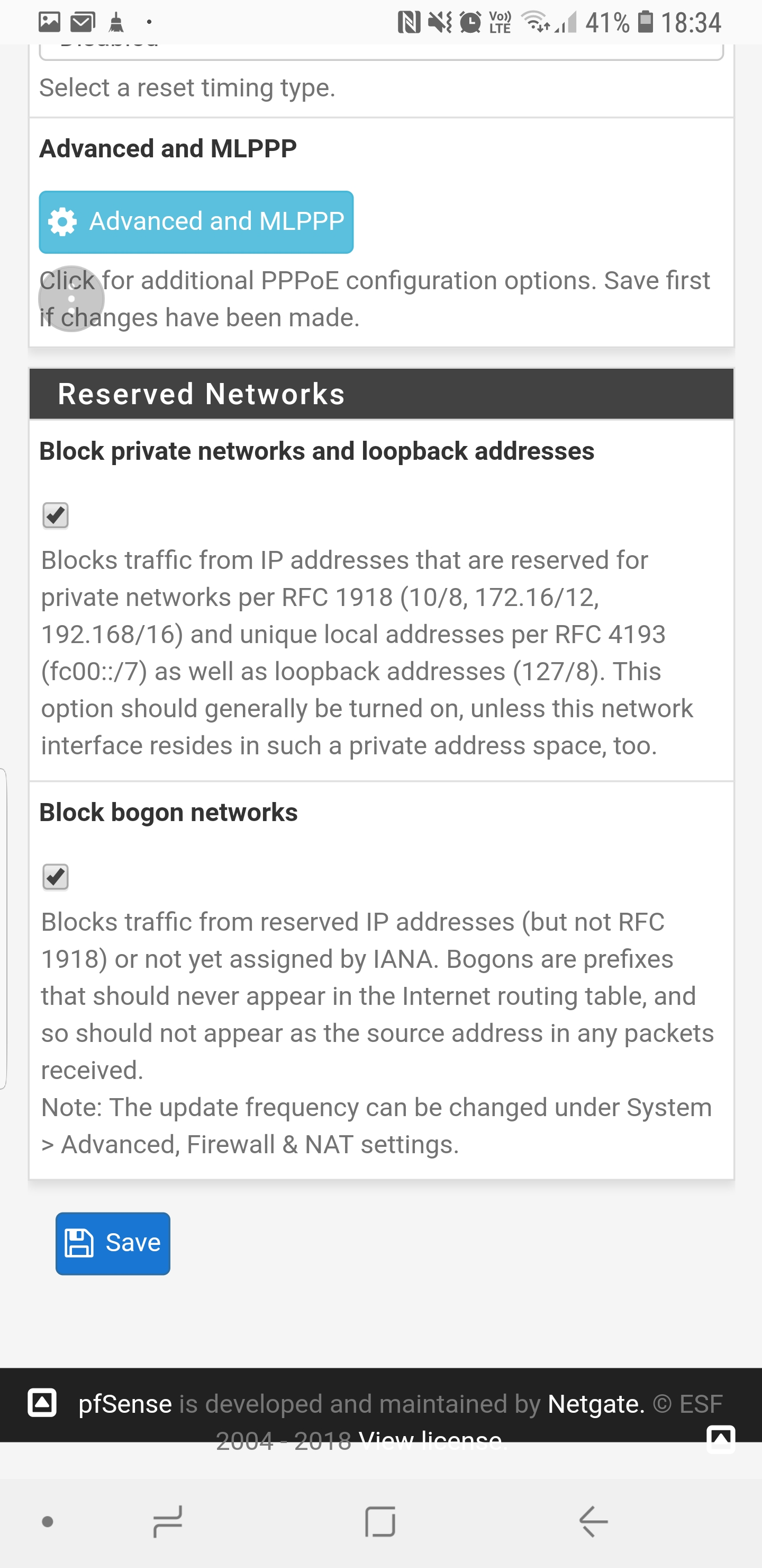 Pfsense blocking Playstation network on my ps4 and 3 and other phone