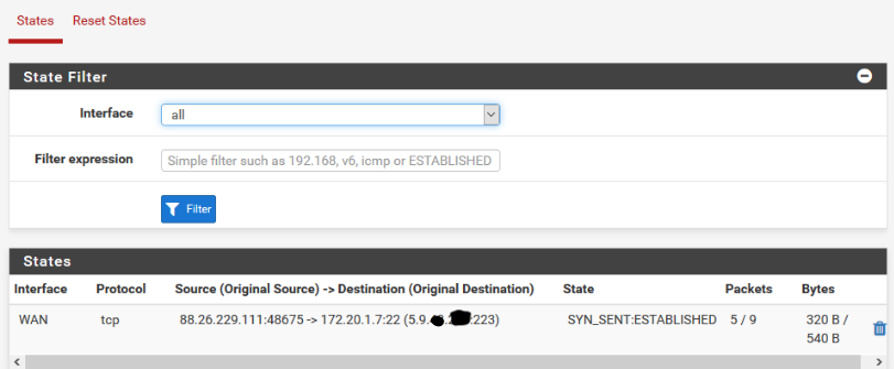 SSH Port Forwarding from custom ports to port 22 does not