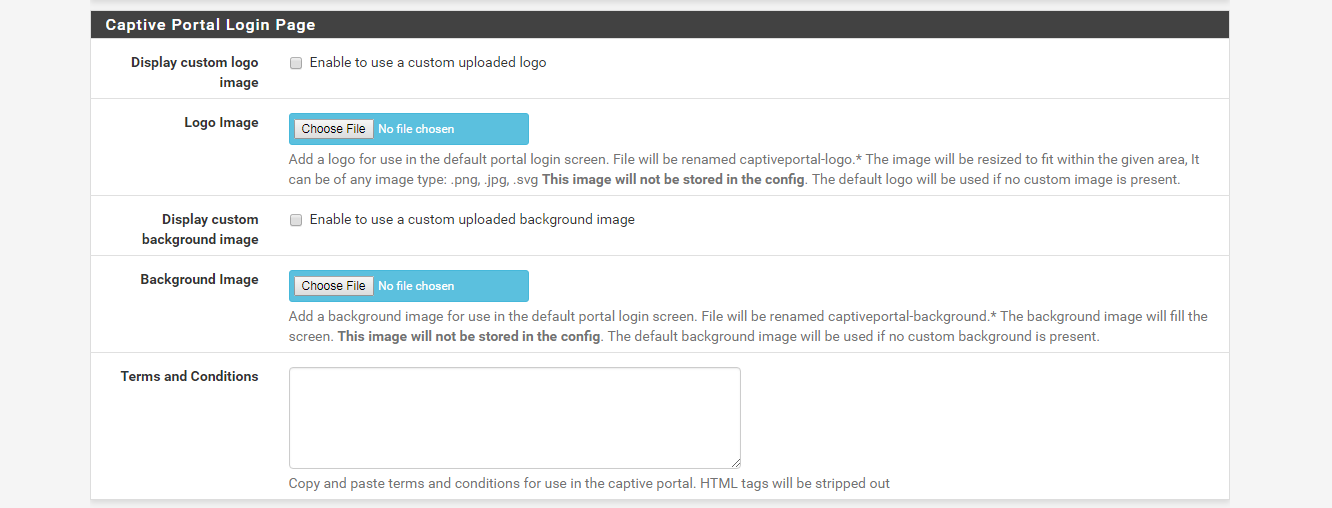 Out of the Box Captive portal not working | Netgate Forum