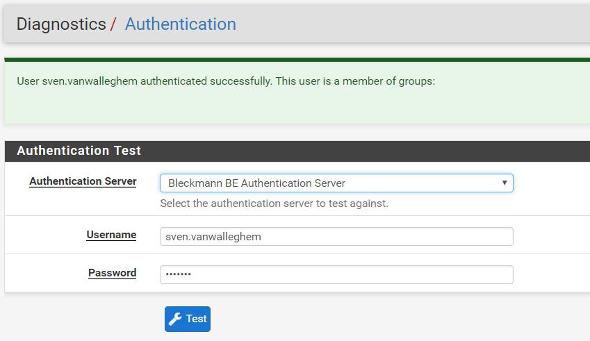 Multiple Radius Servers - unable to connect using OpenVPN | Netgate