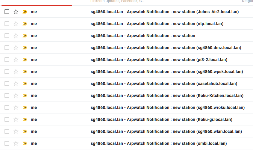 Arpwatch email notifications don't work | Netgate Forum