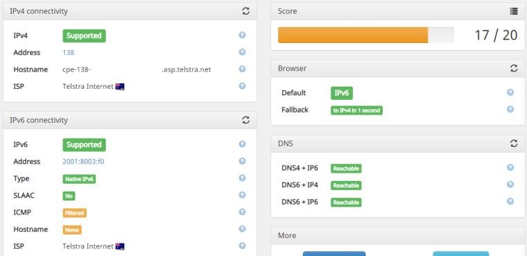 IPv6 Native with Telstra, Australia | Netgate Forum
