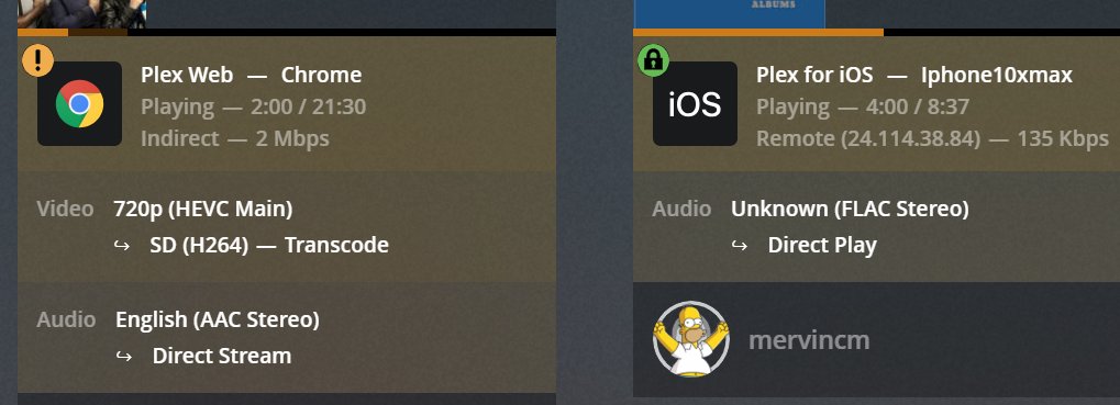 Plex indirect on many internal devices, but not all (Solved