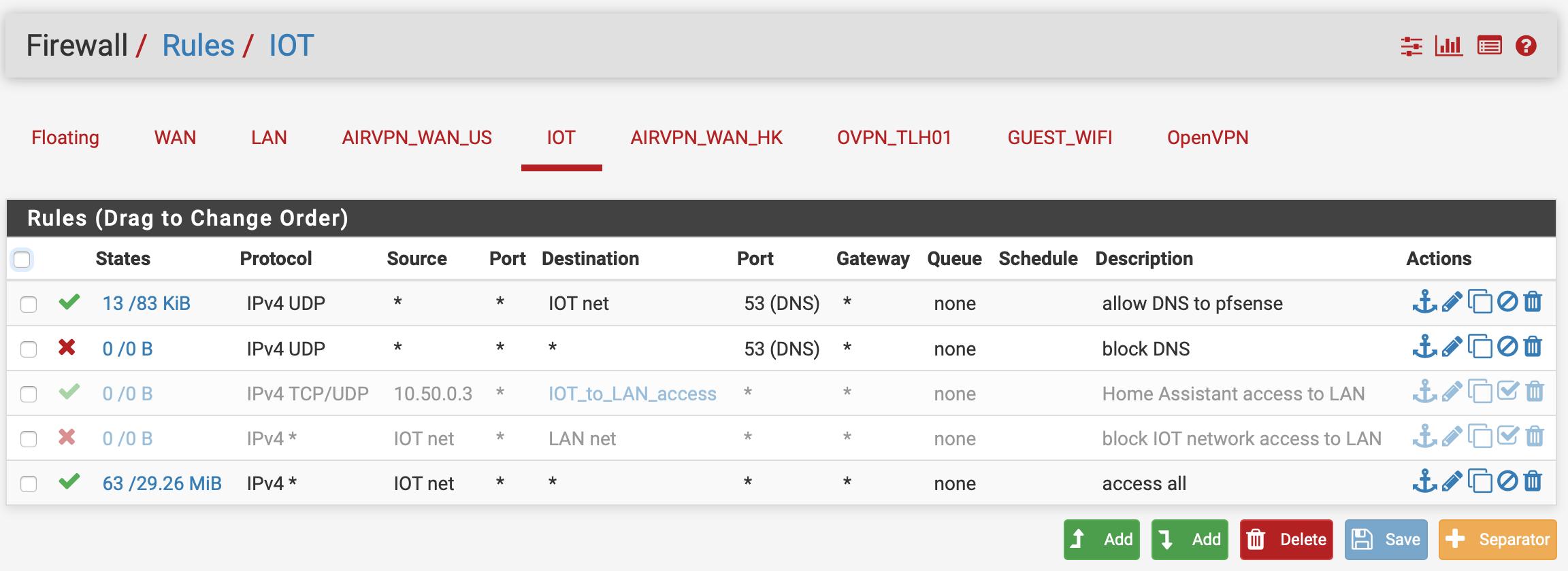Problems pinging between IPs on a VLAN subnet | Netgate Forum