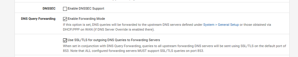 DNS over TLS | Netgate Forum