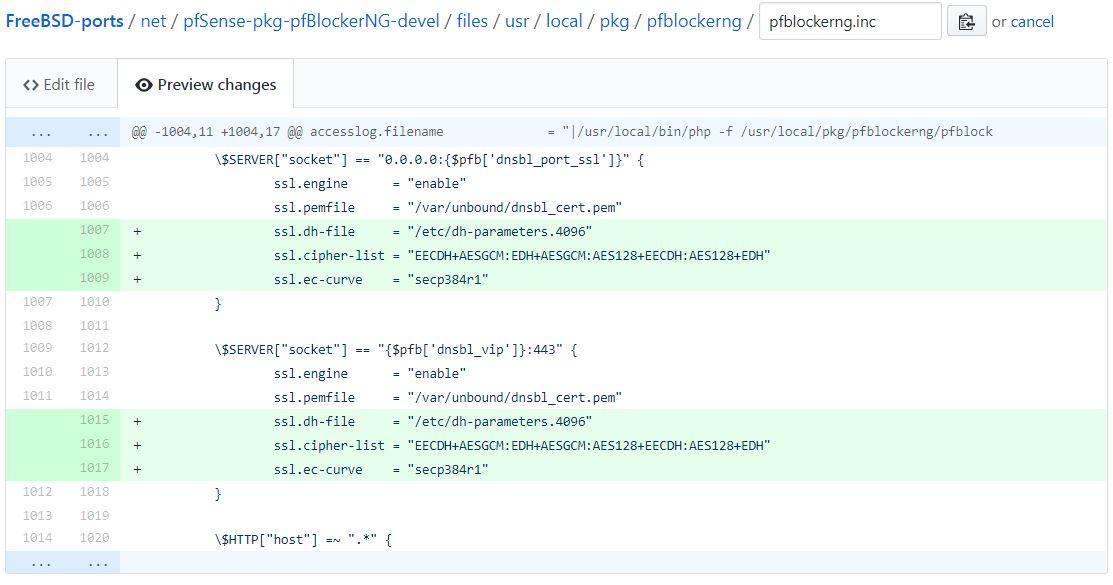pfSense weak DH vuln found with Kali | Netgate Forum