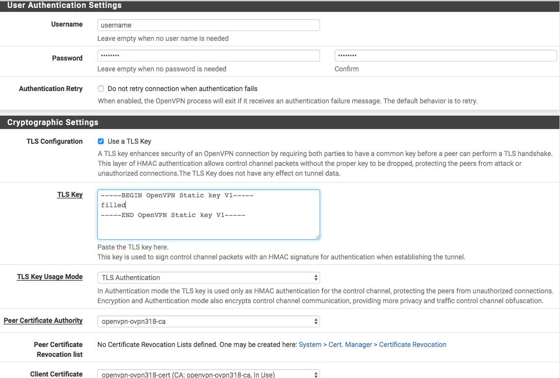 All Linux Openvpn No Server Certificate Verification Method