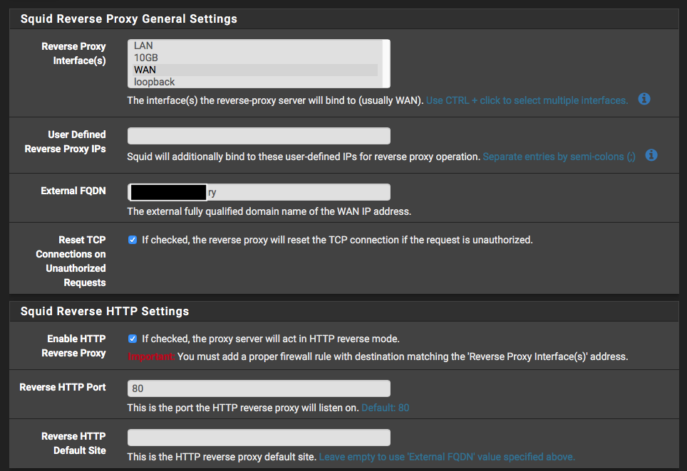 Reverse proxy with pfSense and Squid not working | Netgate Forum