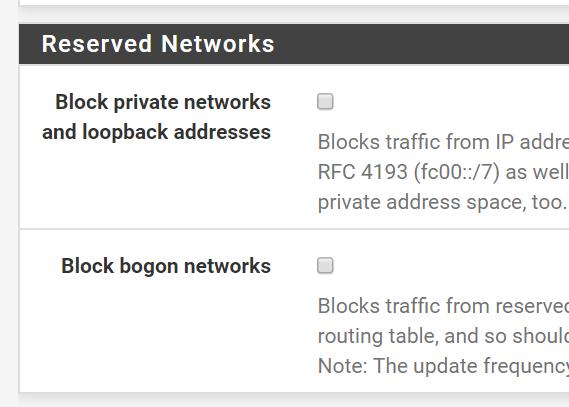 Solved ] Newbie on PFSense getting firewall errors that I don't