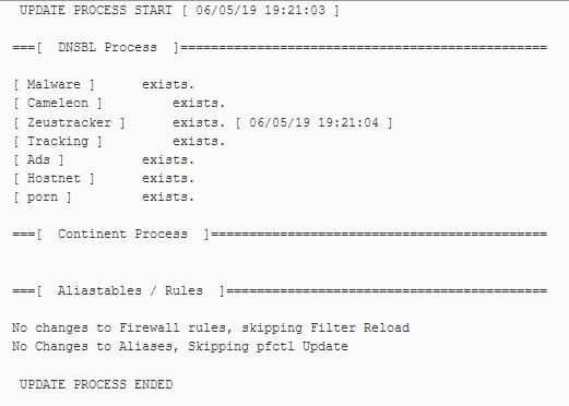 Blocking lists not working   Netgate Forum