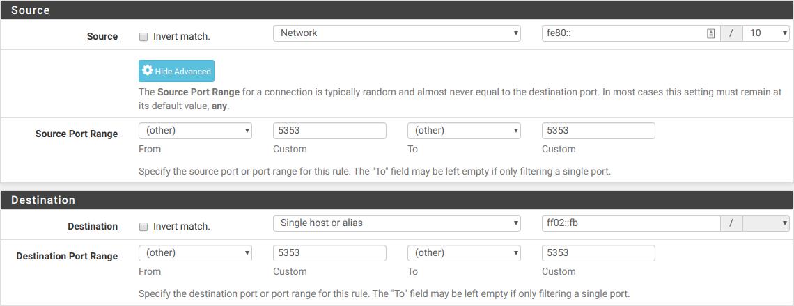 Avahi with IPv6 bug | Netgate Forum